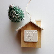 Contemporary Christmas Ornaments by Etsy