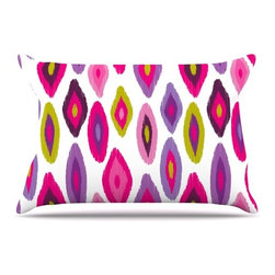 """Kess InHouse - Nicole Ketchum """"Moroccan Dreams"""" Pillow Case, King (36"""" x 20"""") - This pillowcase, is just as bunny soft as the Kess InHouse duvet. It's made of microfiber velvety fleece. This machine washable fleece pillow case is the perfect accent to any duvet. Be your Bed's Curator."""