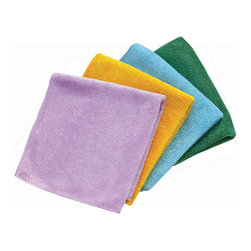 e-cloth - e-cloth General Purpose Cloths , 4pk - The e-cloth General Purpose Cloth is the latest paper towel alternative that not only helps to shrink your environmental footprint, but also is far more effective than Cleaning with paper.