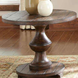 Liberty Furniture - Spanish Planked End Table -