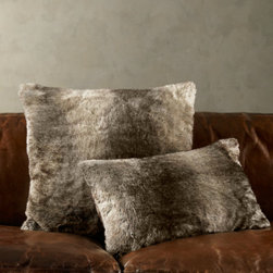 Luxe Fur Pillow Covers - I love fur pillows for the colder days, especially the ones that look and feel real but are chic faux.