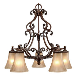 Loretto 5 Light Nook Chandelier