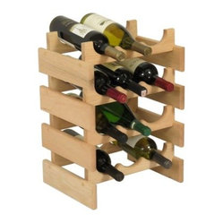 Dakota 12 Bottle Wine Rack - Triple Row - WR34