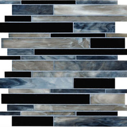 Smokey Steel Linear Glass Mosaic Tile - Smokey Steel Linear Glass Mosaic Tile are designed and manufactured for the discerning designer and homeowner. When it comes to adding distinction to your home or design project, choose from our great selection of glass tile, glass mosaics, subway glass tile, vertical glass tile, glass and stainless blends and our linear glass tile. We provide the highest quality glass tile products for all your bathroom and kitchen remodeling needs and all for incredible prices. Visit the links below to find the perfect tile for you and your home!