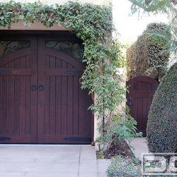 A French Mediterranean Style Custom Garage Door & Gate Project in Laguna Niguel! -