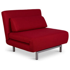 Modern Chairs Copperfield Solo Red Sleeper Chair