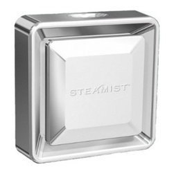 Steamist - 3199 Steamhead  - Brushed Nickel 360 - Steamhead, Brushed Nickel Sporting a new low-profile look, our new steamhead delivers 360 degree steam dispersion, without the need for an additional diffuser accessory. It's also designed to easily replace previous steamhead designs without plumbing modifications.