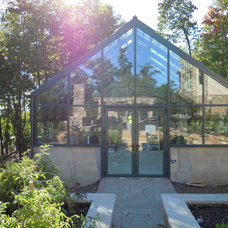 Modern Greenhouses by Solar Innovations, Inc.