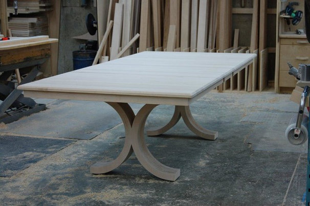 Contemporary Dining Tables by Woodcraft Furniture