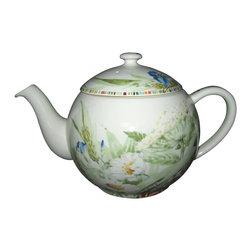 Gien - Gien Cherry Teapot - Gien Cherry Teapot