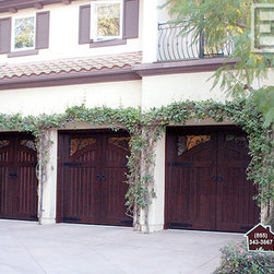 Custom-Made French Mediterranean Style Garage Doors & Entry Gates! - Orange County, CA Custom Garage Doors - Crafted in in Orange County, Dynamic Garage Doors are an elegant addition to any home's architectural curb appeal.