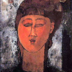 """Art MegaMart - Amedeo Modigliani Fat Child - 20"""" x 25"""" Premium Canvas Print - 20"""" x 25"""" Amedeo Modigliani Fat Child premium canvas print reproduced to meet museum quality standards. Our museum quality canvas prints are produced using high-precision print technology for a more accurate reproduction printed on high quality canvas with fade-resistant, archival inks. Our progressive business model allows us to offer works of art to you at the best wholesale pricing, significantly less than art gallery prices, affordable to all. We present a comprehensive collection of exceptional canvas art reproductions by Amedeo Modigliani."""