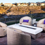 The Ultimate Outdoor Living Room...by Somers Furniture - Modular and Flexible:
