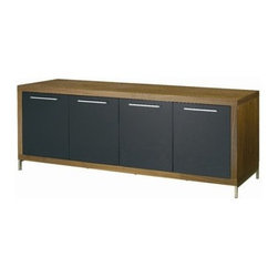 Nuevoliving - Nuevo Living Silva Buffet - White - HGSD274 Finish: Walnut