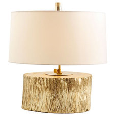 eclectic table lamps by Digs