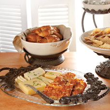 Traditional Serving Trays by Iron Accents