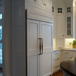 Double Row of Upper Cabinets