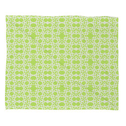 DENY Designs - Lisa Argyropoulos Electric In Honeydew Fleece Throw Blanket - This DENY fleece throw blanket may be the softest blanket ever! And we're not being overly dramatic here. In addition to being incredibly snuggly with it's plush fleece material, it's maching washable with no image fading. Plus, it comes in three different sizes: 80x60 (big enough for two), 60x50 (the fan favorite) and the 40x30. With all of these great features, we've found the perfect fleece blanket and an original gift! Full color front with white back. Custom printed in the USA for every order.