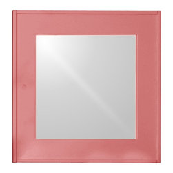 So Square Mirror - It's hip to be square, and our super-functional So Square Mirror has the chops to prove it. Taking functionality to a whole new (and stylish) level, this handsome piece will become a staple in your workspace or kitchen. Who says organizing needs to be dull? Spice it up with a Maine Cottage® Signature color. Pretty as a picture.