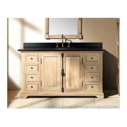 Rustic Bathroom Vanities For A Casual Country Style Bathroom - Rustic Bathroom Vanities For A Casual Country Style Bathroom