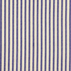 "Ticking Stripe 90"" Tablecloth Round"