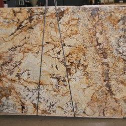 Granite & Marble Slabs - Havana granite, Levantina, natural stone, slab, kitchen island, granite