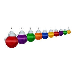 Polymer Products LLC Multi-Color Globe String Light Set - Multicolor - On trend and with a clean, modern look, string lights are an easy way to add flair and fun to your outdoor decor. Light up the outdoors with this weather-resistant Polymer Products LLC Multi-Color Globe String Light Set - Multicolor. It's perfect for decoration or functional lighting. Great for decks, patios, porches, awnings, and recreational vehicles. Includes 20-ft. power cord and hanging hooks for installation. What exactly is polycarbonate lighting? Polycarbonate is resistant to shattering, so it's perfect for outdoor lighting. It's UL/cUL-approved and is a great weather-resistant choice in lighting. Polymer Products proudly make their polycarbonate lighting here in the USA.