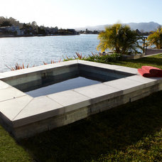 Contemporary Hot Tub And Pool Supplies by NORMAN CHARLES CONSTRUCTION