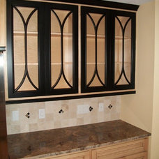 Eclectic Kitchen Cabinetry by The Home Store