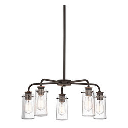 Kichler Lighting - Kichler Lighting 43058OZ Braelyn Olde Bronze 5 Light Chandelier - 5, 60W Medium