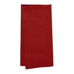 KAF Home - Buffet Napkins - Set of 8, Red - Our buffet napkins are versatile, soft and essential for any kitchen, modern or classic. Available in a variety of colors, these napkins are more appropriate for a formal occasion, indoor or outdoor.