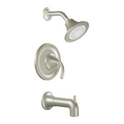 Moen - Moen T2156BN Moentrol Tub/Shower Trim Brushed Nickel - Moen T2156BN Icon Moentrol Tub/Shower Trim - Brushed Nickel