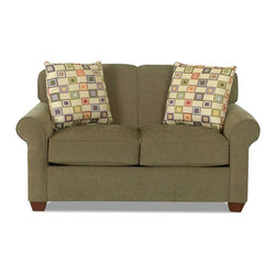 Savvy - Calgary Twin Sleeper Sofa in Willow Olive - Calgary Twin Sleeper Sofa in Willow Olive