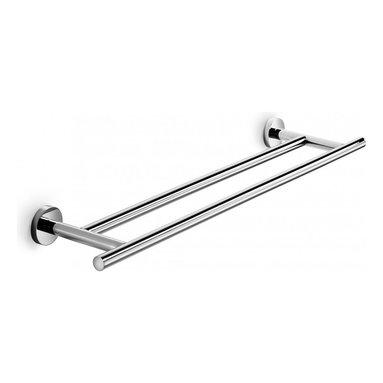 "WS Bath Collections - Spriz Double Towel Rail 25.6"" - Features:"