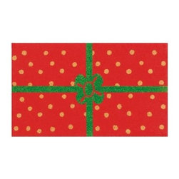 Momentum Mats - Momentum Mats Christmas Package 29 in. x 17 in. Coir and Vinyl Door Mat 12103 - Shop for Holiday Decorations at The Home Depot. This fanciful holiday outdoor rug is made of natural coir and vinyl-backed for stability and to prevent movement. This decorative holiday package is an attractive door mat that makes a durable addition to any porch or patio area. Wonderful for the holidays and all winter long.