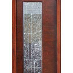 """Wind-load Rated, Single Door, Modern Corsico Glass, Prehung Solid wood - SKU#MILAN-corsico-RBrandAAWDoor TypeExteriorManufacturer CollectionMilan Contemporary DoorsDoor ModelDoor MaterialWoodWoodgrainMalapogaVeneerPrice3400Door Size Options36"""" x 80"""" (3'-0"""" x 6'-8"""")  +$0 36"""" x 96"""" (3'-0"""" x 8'-0"""")36"""" x 96"""" (3'-0"""" x 8'-0"""")  $Core TypeSolidDoor StyleModernDoor Lite Style1 LiteDoor Panel StyleHome Style MatchingContemporaryDoor ConstructionEngineered Stiles and RailsPrehanging OptionsPrehungPrehung ConfigurationSingle DoorDoor Thickness (Inches)1.75Glass Thickness (Inches)Glass TypeGlass CamingGlass FeaturesTempered , InsulatedGlass StyleGlass TextureClearGlass ObscurityDoor FeaturesDoor ApprovalsWind-load RatedDoor FinishesDoor AccessoriesWeight (lbs)1190Crating Size25"""" (w)x 108"""" (l)x 52"""" (h)Lead TimeSlab Doors: 7 daysPrehung:14 daysPrefinished, PreHung:21 daysWarranty1 Year Limited Manufacturer WarrantyHere you can download warranty PDF document."""