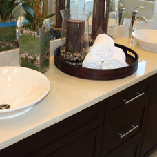 Traditional Vanity Tops And Side Splashes by Stalwart Systems, LLC