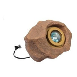 Malibu - Malibu Outdoor Lighting. 1-Light Halogen Low Voltage Sand Rock Light - Shop for Lighting & Fans at The Home Depot. With a durable Polynesian construction that simulates the look of rock, this Malibu Outdoor Sand Rock Light employs a clear glass lens and includes a 35 watt halogen bulb to provide a touch of style to your garden or walkway while delivering crystal-clear illumination. Powered by a low-voltage Malibu transformer, the rock light provides long-lasting and reliable use.