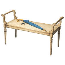 Traditional Upholstered Benches by Contemporary Furniture Warehouse