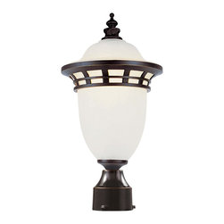 Trans Globe Lighting - Trans Globe Lighting PL-5112 BZ Energy Efficient Traditional Outdoor Post Lanter - Trans Globe Lighting PL-5112 BZ Energy Efficient Traditional Outdoor Post Lantern Light