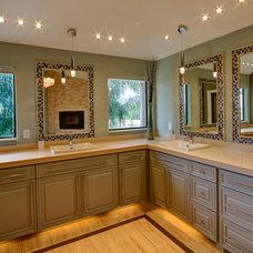 Contemporary Bathroom by Sweetlake Interior Design LLC