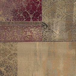 Oriental Weavers - generations heirloom carpet (8x11) - The generations collection of indoor carpets features a machine made 100% polypropylene cross-woven construction designed for durability. The classic color palette includes reds, greens, browns and plums that vary from soft to deep tones encompassing the rich colors of traditional rugs in a contemporary form.