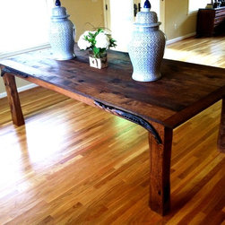 Draught Dining Table - William NeyThe Draught horse (draft in America...I just like the British spelling). Is the workhorse of the equine family. As the Draught table is now the workhorse of the family it was built for.