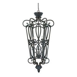 Jeremiah Lighting - Jeremiah Lighting 25236 Highland Place 6 Light Lantern Pendant - Jeremiah Lighting 6 Light Lantern Pendant from the Highland Place CollectionFeatures: