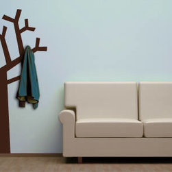 Coat rack wall decals - Removable coat rack wall decals are one of the coolest ways to decorate and optimize your space at the same time. Take a look at our brand new tree hanger coat rack, a fun tree wall sticker that comes with hooks. Your home or office won't look the same again. Starts at $48.