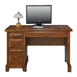 Winners Only - Winners Only Zahara 47 in. Writing Desk - Medium Oak Multicolor - GZ247 - Shop for Desks from Hayneedle.com! Make the Winners Only Zahara 47 in. Writing Desk - Medium Oak the centerpiece of your home workspace. Crafted of solid hardwood with select oak veneers this piece features drawers made with dovetail joints for longevity. Stash your files in the lockable legal/letter file drawer that runs on full-extension ball bearing glides for easy access to contents in the rear. A convenient secretary pull out provides extra horizontal space when you need it most. Delivered via White Glove service.Dimensions:Overall: 47W x 26D x 31H in.Drop-front keyboard tray/drawer: 23.625W x 16D x 2.5H in.Kneehole: 25.5W x 24.75H in. Top drawer: 9.75W x 15.25D x 2.25H in.Center drawer: 9.75W x 15.25D x 5.75H in.Bottom drawer: 9.75W x 15.25D x 9.75H in.About Winners OnlyWinners Only specializes in distinctive furnishings for the office dining room bedroom and home entertainment center. Their quest to manufacture and distribute furnishings of the utmost quality and value began in 1988. This Vista California based concern is now supplying its wares to the best retailers across the US. Supportive customer service is a hallmark of the Winners Only buying experience and a matter that the company takes very seriously. Key considerations for all design and production decisions include attention to detail durability and timeless design. Each collection that Winners Only brings to the world must pass strict standards for the durability of the finish and construction. Each collection must also surpass discriminating aesthetic standards. Winners Only is dedicated to continuously updating its understanding of how customers want to eat sleep work and play so that it can continue to surpass their expectations with superior home furnishings.