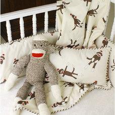 Modern Baby Bedding by dimplesanddandelions.com