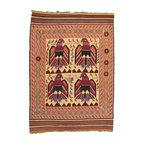 eSaleRugs - 6' 7 x 9' 4 Pictorial Sumak Rug - SKU: 22139293 - Hand Woven Pictorial Sumak rug. Made of 100% Wool. Brand New.