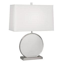 Robert Abbey - Alice Table Lamp, Nickel - -1 - 150W Max.