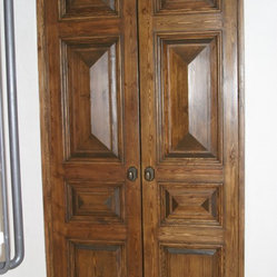 Tuscan door mediterranean by trustile doors kitchen for Mediterranean interior doors